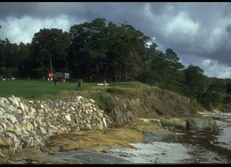 AT&T Pebble Beach 4th hole Getty Images