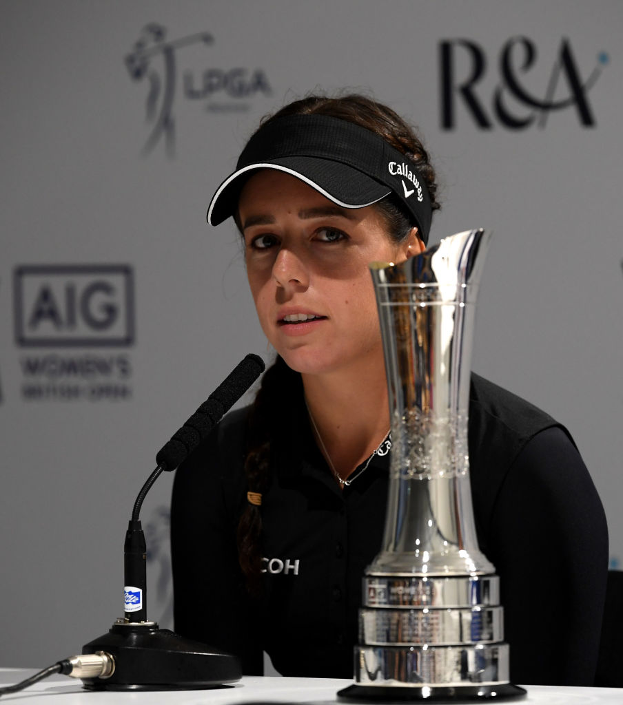 AIG Women's British Open - Previews Getty Images