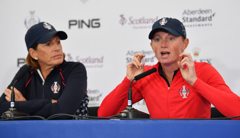 The Solheim Cup - Preview Day 2 Getty Images