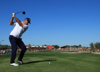 Abu Dhabi HSBC Championship - Day Two Getty Images