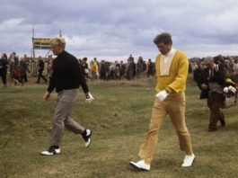Sanders And Nicklaus Getty Images