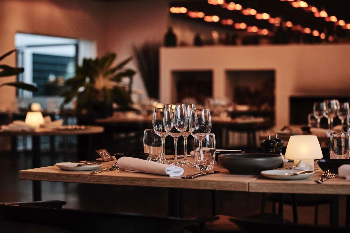 Restauranten bruger de bedste råvarer og fokuserer på bæredygtighed, økologi og gastronomi.