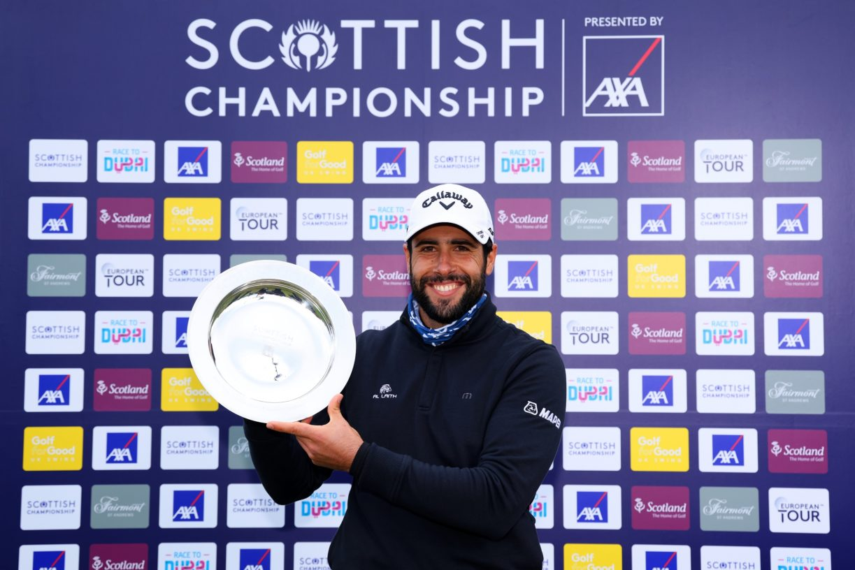 Scottish Championship Presented By AXA - Day Four Richard Heathcote