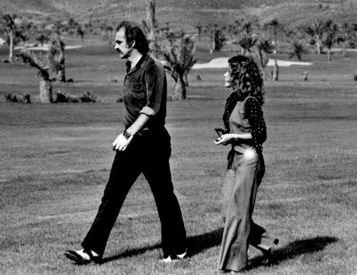 Sean Connery and Micheline Roquebrune Gianni Ferrari