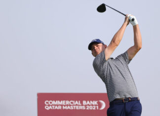 Commercial Bank Qatar Masters - Day Two Richard Heathcote