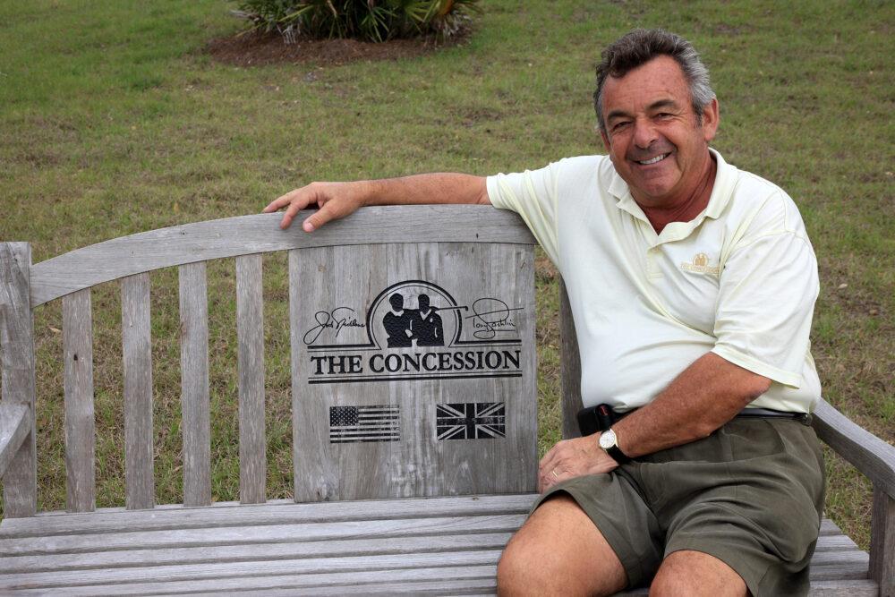 Tony Jacklin At Home David Cannon