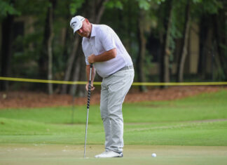 GOLF: MAY 01 PGA TOUR Champions - Insperity Invitational Icon Sportswire