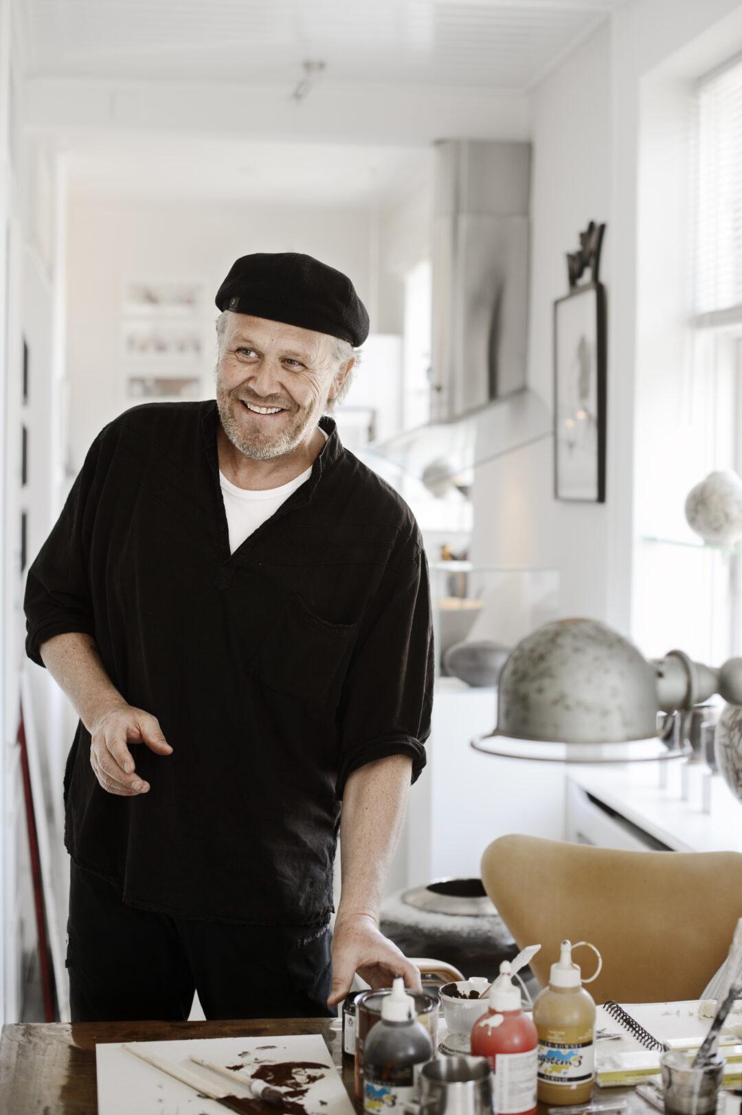Morten Ingemann, tegner ,
