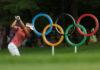 Golf - Olympics: Day 15 Mike Ehrmann
