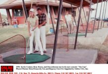 """07/29/96 Kevin Costner, Rene Russo, and Don Johnson stars in the new comedy """"Tin Cup"""" Getty Images"""